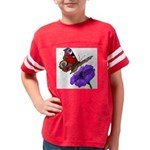 butterfly-4 Youth Football Shirt