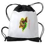 butterfly-7 Drawstring Bag