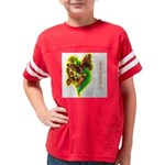 butterfly-7 Youth Football Shirt