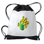 butterfly-3 Drawstring Bag