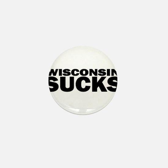 Unique Wisconsin badgers Mini Button