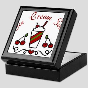 Ice Cream Soda Keepsake Box