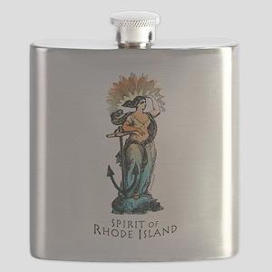 Spirit of Rhode Island Flask