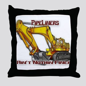Pipeliners Throw Pillow