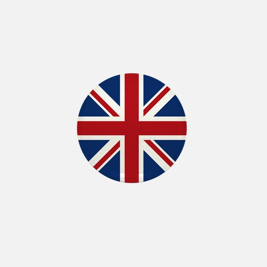 United Kingdom Union Jack Flag Mini Button