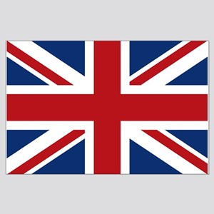 United Kingdom Union Jack Flag Large Poster