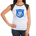 2 Souls 1 Heart Women's Cap Sleeve T-Shirt