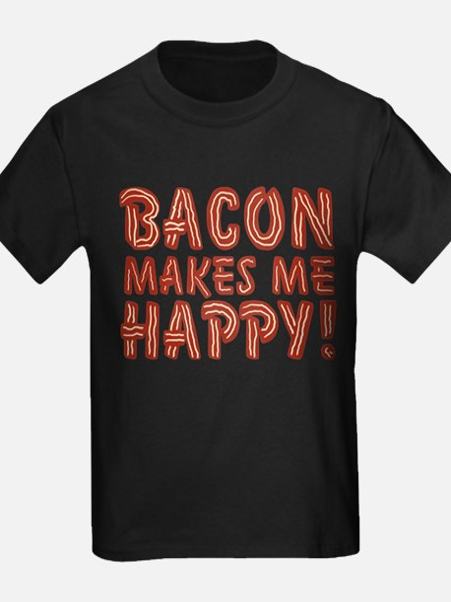 Bacon Makes Me Happy T