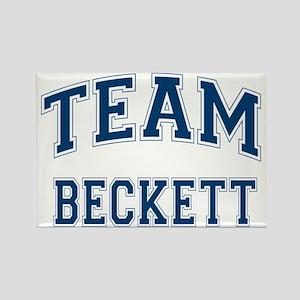 Castle Team Beckett Rectangle Magnet