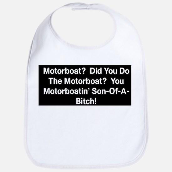 Motorboat T-Shirt Bib