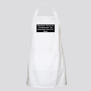 Motorboat T-Shirt Apron