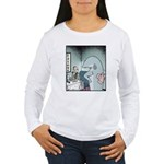Angry Fin-less Shark Women's Long Sleeve T-Shirt