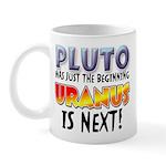 Pluto Uranus Mug