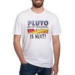 Pluto Uranus Fitted T-Shirt