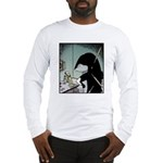 Angry Minke Whale Long Sleeve T-Shirt
