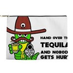 Tequila Humor Makeup Pouch