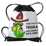 Tequila Humor Drawstring Bag