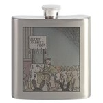 Angry Rabbits Flask