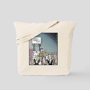 Angry Rabbits Tote Bag