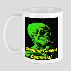 Smoking Causes Dementia Erie Mug