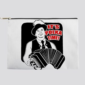 Polka Time Makeup Pouch