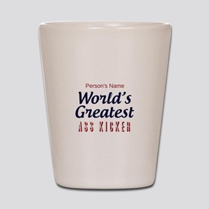 Worlds Greatest Personal Trainer Shot Glass