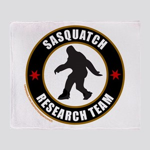 SASQUATCH RESEARCH TEAM Throw Blanket