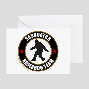SASQUATCH RESEARCH TEAM Greeting Card