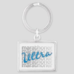 Ultra Marathoner Landscape Keychain