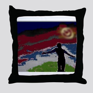 Father's Forgive Throw Pillow