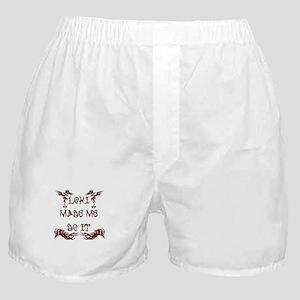 Loki Made Me Do It Boxer Shorts