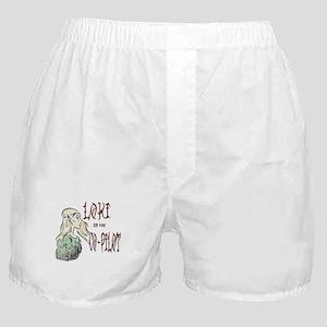 Loki is my Co-Pilot Boxer Shorts