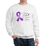 Ribbon Alzheimers Disease Sweatshirt