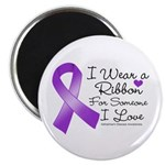 Ribbon Alzheimers Disease Magnet