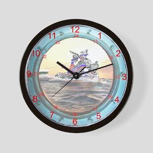 24 hour Watchstanders Bulkhead Clock