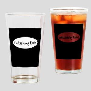 Embalming fluid flask Drinking Glass