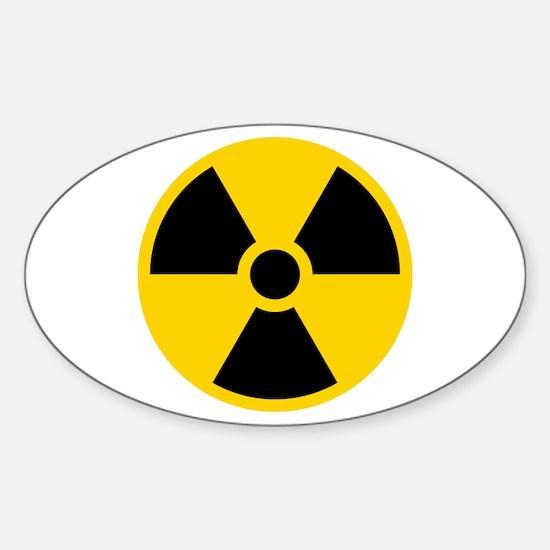 Nukes Sticker (Oval)