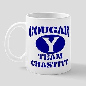 COUGAR TEAM CHASTITY MORMON S Mug