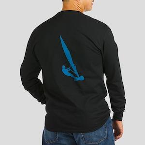 Windsurfer Windsurfing Long Sleeve Dark T-Shirt