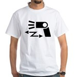 Wireless off-camera flash symbol White T-Shirt