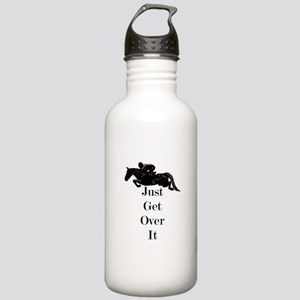 Just Get Over It Horse Jumper Stainless Water Bott