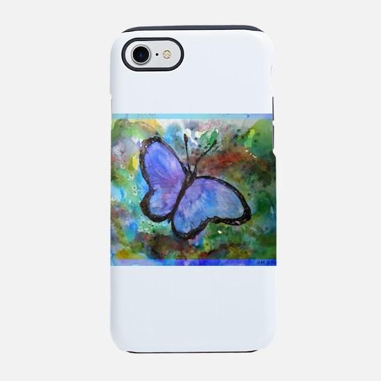 Butterfly! Beautiful nature art! iPhone 7 Tough Ca