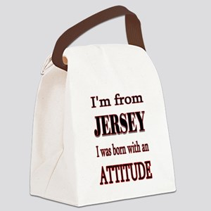 Jersey Attitude Canvas Lunch Bag