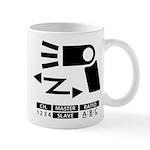 Wireless off-camera flash symbol Mug
