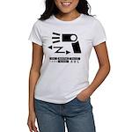 Wireless off-camera flash symbol Women's T-Shirt