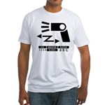 Wireless off-camera flash symbol Fitted T-Shirt