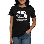 Wireless off-camera flash symbol Women's Dark T-Sh