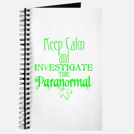 Keep Calm: Paranormal Journal