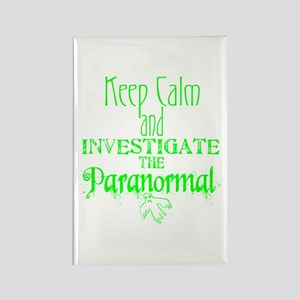 Keep Calm: Paranormal Rectangle Magnet
