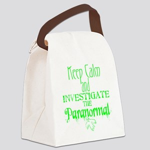 Keep Calm: Paranormal Canvas Lunch Bag
